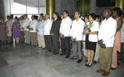 Un total de 22 nuevos embajadores cubanos prestaron juramento