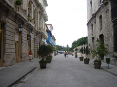 O'relly street in Old Havana