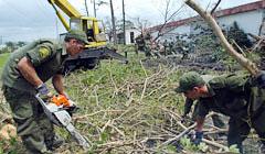 Restablecen servicios de television y radio en Pinar del Rio Cuba