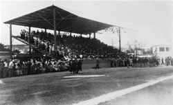 The historic stadium Palmar del Junco in Pueblo Nuevo, Matanzas