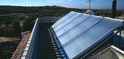 Photo-voltaic cell panels