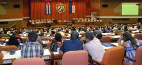 Cuban Parliamentarians Assess Economic Impact of the 2008 Hurricanes