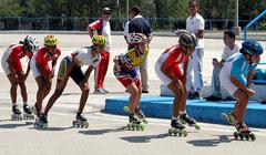 Patinadores cubanos a I Copa Centroamericana y del Caribe