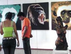 In Las Tunas, Cuba: Plastic Artists Receive Prizes