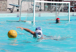 Cuban Water Polo Team seeks qualification for Beijing Olympics