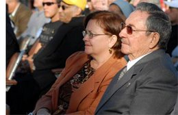 President Raul Castro Ruz Attends First Beatification Ceremony in Cuba