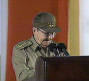 Cuban President Raul Castro Emphasizes Strength of Revolution