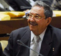 President of Cuba, Raúl Castro, Gave his Regards to the Mexican Counterpart.