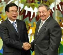 Se reunio Raul Castro con dirigente chino