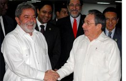 Presidents Raul Castro and Lula da Silva Held Talks in Havana
