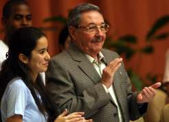 Cuban President Heads Middle School Student Federation Congress
