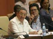 President Raúl Castro participates in the Congress of the UNEAC