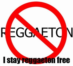 Reggaeton: He who is free from sin throws the first song