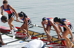 Cuban rowers in Germany for World Championship in Munich