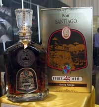 Cuban rum Santiago that will be distributed in the Spanish market after an agreement is considered in 464,000 dollars
