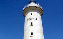 Lighthouse Roncali in Guanahacabibes Peninsula illuminating the end western of Cuba