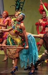 The dance and musical production Viva Cuba in Spain