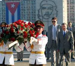 Visit Cuba Vice President of the Russian Federation Igor Ivanovich Sechin