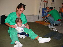 Cuban children with neurological disorders recover successfully