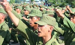 Cuban Military Service: a school for building character
