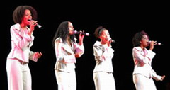 The Cuban vocal quartet Sexto Sentido in Mexico City