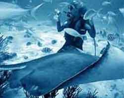 submarinismo azul