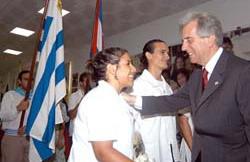 Agradece el presidente de Uruguay histórico apoyo de Cuba