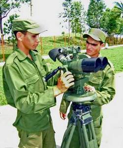 The military service is one of the main ways that allow Cuban citizens