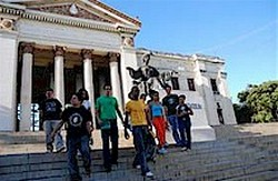 In Cuba Mass entry into the Federation of University Students throughout the country
