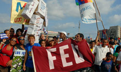 Cuban Federation of University Students to Hold Plenary Session