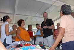 A United Nations Population Fund official visited Central Cuba