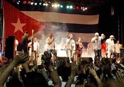 van van bandera cuba