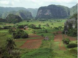 Cuba restaura el poblado de Vinales con lugarenos y expertos