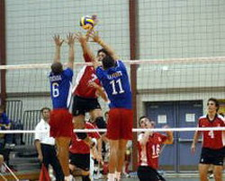 Cuba defeated by U.S. Womens National Volleyball Team