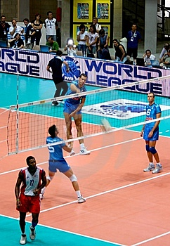 Cuba is in a tough group C that includes Russia and Bulgari at 20th World Volleyball League