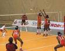 Kenya Women's volleyball lose to Cuba