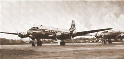 First transatlantic flight Sevilla-Camaguey