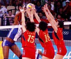 Tres sets por uno Cuba le gano a China en ronda final del Gran Premio Mundial