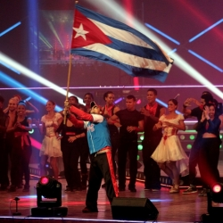 Cuban musicians opened the International Radio and Television Convention 2014