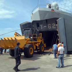 Second ship from Venezuela arrives with aid for victims of Hurricane Matthew