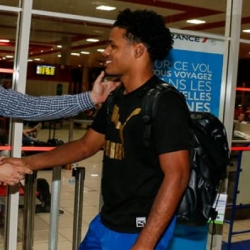 Cuban Sports President receives U21 volleyball team