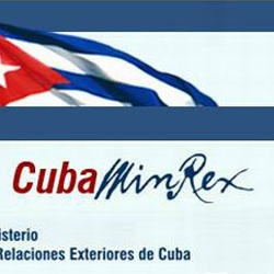 Cuba -US: Appropriate context to advance to the restoration of relations, Foreign Ministry says.