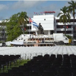 Sancti Spiritus hosts main rally on Day of National Rebelliousness