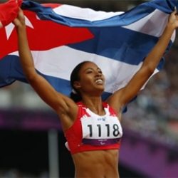 Cuban Duran sets world record in 400 meters in Paralympics