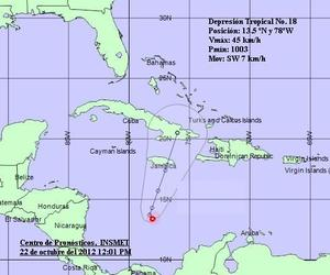 Storm May Grow On Track To Jamaica