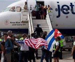 2017: Record of more than 200,000 people coming from USA to Cuba