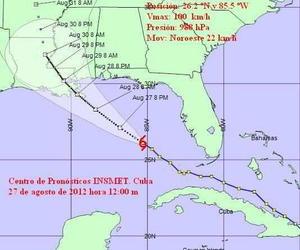 tormenta trpocial cuba golfo de mexico